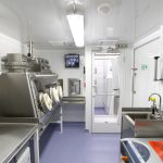 BSL-3 Trailer Laboratory Interior – Class III – Work Zones