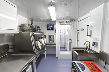 Germfree BSL-3 cGMP Mobile Facility