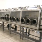 Germfree AHR Class III Custom Glovebox Line