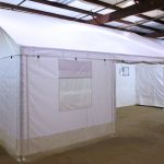 Germfree BSL-3 Trailer Lab Exterior w-Tent (80)