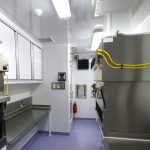 Germfree BSL-3 Trailer Laboratory Interior Class II