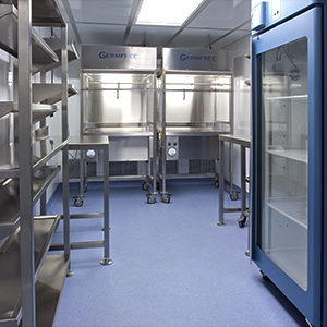 Germfree Compounding Pharmacy Trailer Interior