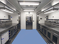 Germfree Mobile Container Lab Interior C1