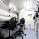 Germfree Mobile Lab Workspace with Class III BSC