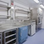 Germfree Modular – BSL-2 room casework and Class II BSC