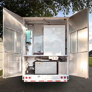 Germfree Rental Pharmacy Trailer Mechanical