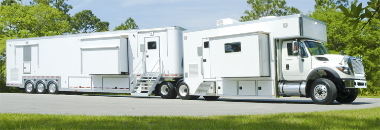 Germfree Truck and Trailer Mobile Labs