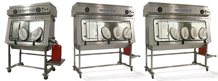 Germfree Versaflow Series Laminar Flow Isolator PP