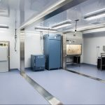 Modular Biosafety Laboratory Interior