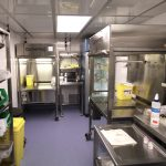 Rental Pharmacy Trailer Interior 2