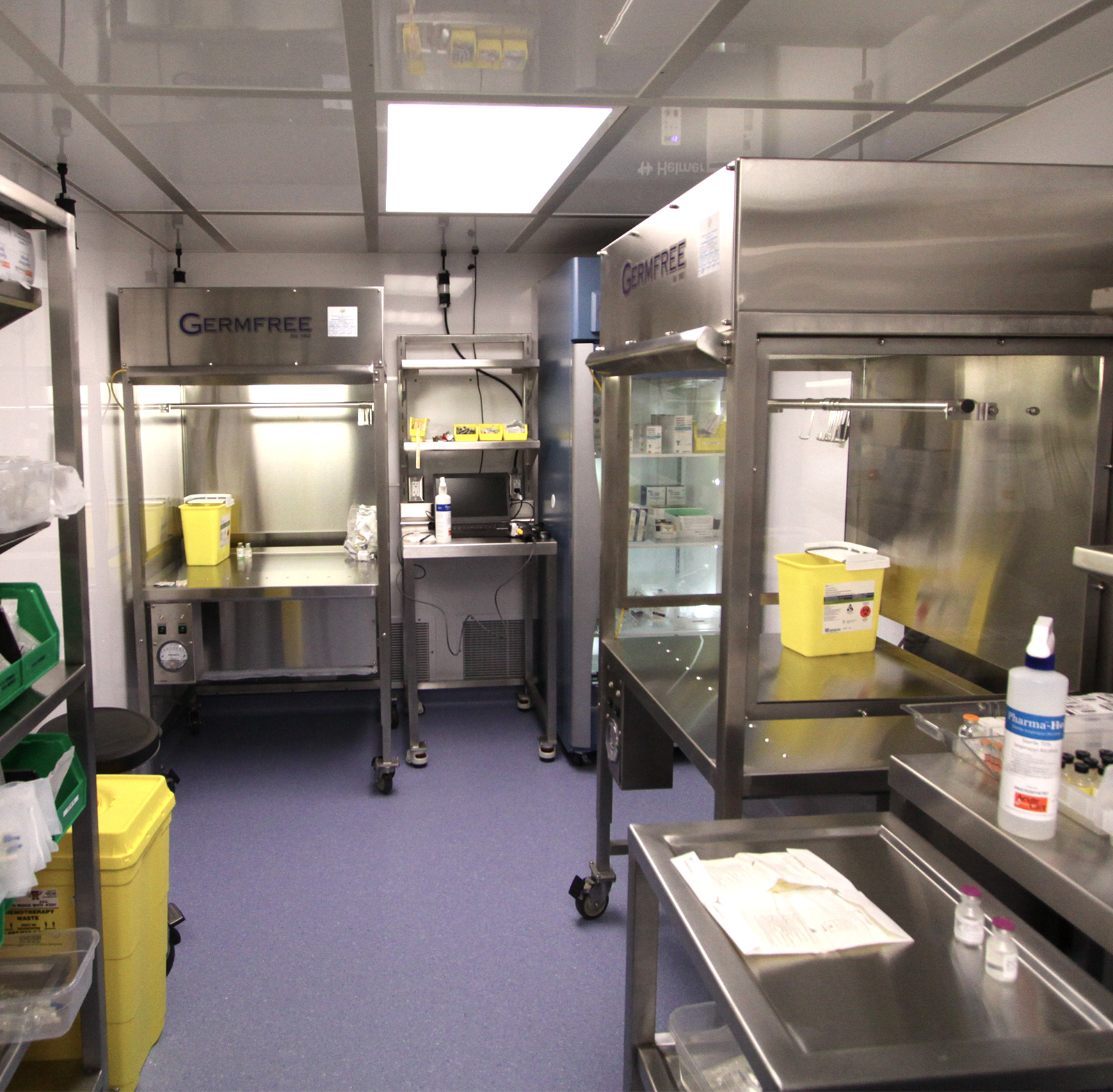 Rental Compounding Trailers Pharmacy Equipment Usp 800